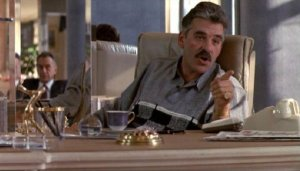 Dennis Farina, no doubt saying something hilariously vile. RIP...